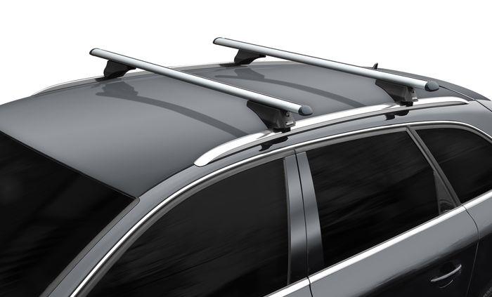 Hausmarke Dachträger Tiger XL m. Aluminiumprofil f. Audi Q5 8R, 5-T SUV Bj. 2008-2017 m. geschlossener Reling