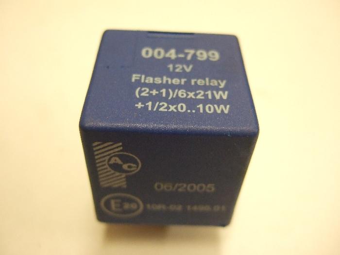 Modul Steuergerät AC Flasher relay 12V (2+1)-6x21W+1-2x0..10W 004-799