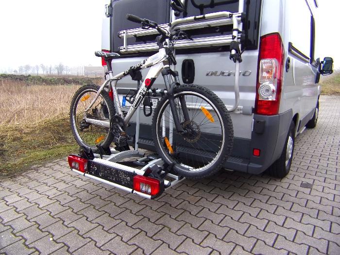 Fahrradträger ATERA Strada DL III Camping spez. für den Peugeot Boxer 2006-2011