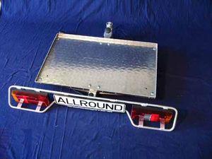 Allround Heckträger m.Transportplattf. 940x600mm Typ UT für d. Anhängerkupplung AHK Lastenträger