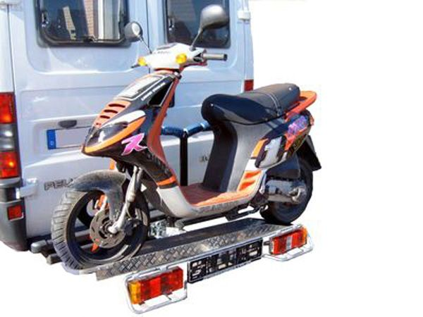 Allround Heckträger für Kleinkrafträder Roller 100kg. Typ UT für d. AHK AHK Heckträger für Roller Kleinkraftrad