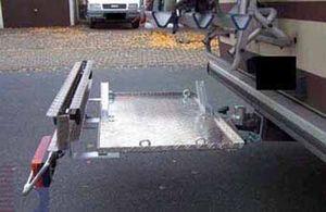 Allround Heckträger für Elektrorollstuhl Meyra Typ UT für d. Anhängerkupplung AHK Heckträger für Rollstuhl