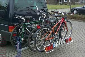 Allround Tandemträger f. 1 Tandem plus 2 Fahrr. Typ UT