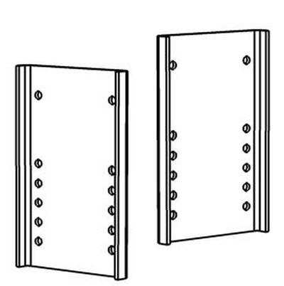 Rasterplatten Absenkplatten Satz für z. B. ALKO ( AL-KO ) SMV Ausführung lang