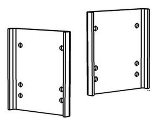 Rasterplatten Absenkplatten Satz für z. B. ALKO ( AL-KO ) SMV Ausführung kurz