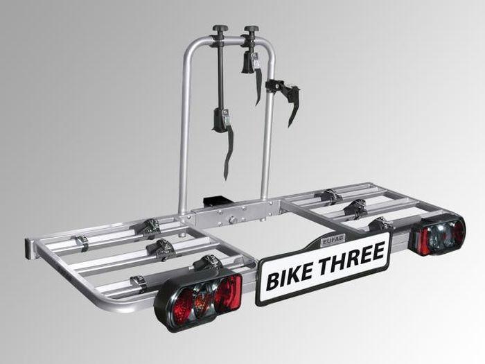 Fahrradträger eufab EAL  Bike Three für d. Anhängerkupplung AHK Fahrradträger für 3 Fahrräder