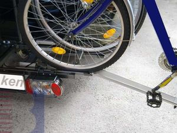 Auffahrschiene (Beladeschiene) für ALUTRANS E- Bike