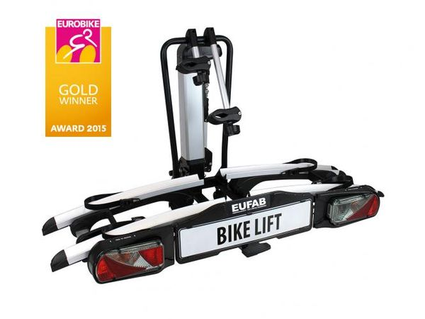 Fahrradträger Eufab Bike Lift  f. 2 Fahrräder/ E- Bike 11535 AHK Heckträger für E-Bike Elektrofahrrad