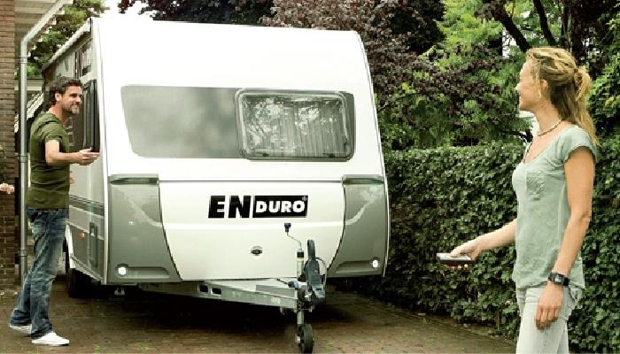 Anh./ Wohnanhänger-Tandem-Rangierhilfe- Enduro EM505 Quattro, incl. AGM AKKU light u. Ladegerät, PREMIUMPAKET 3000kg