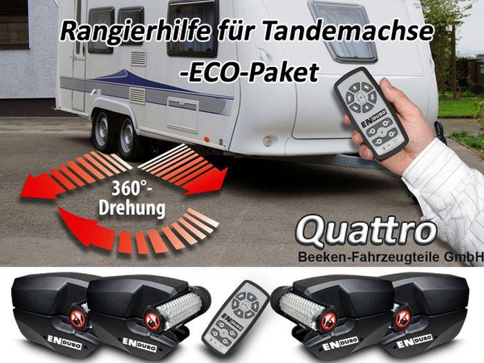 Anh./ Wohnanhänger-Tandem-Rangierhilfe- Enduro EM303A plus Quattro, ECOPAKET 2500 kg