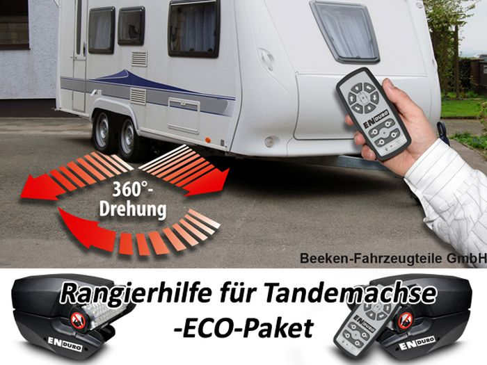 Anh./ Wohnanhänger-Tandem-Rangierhilfe- Enduro EM303A plus, ECOPAKET 1800 kg