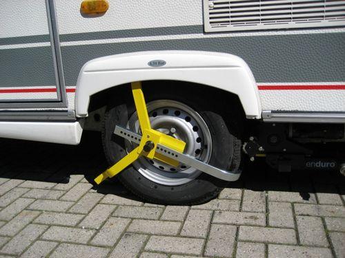Radkralle Radsicherung für Räder 13-16 Zoll, bis Breite 225mm