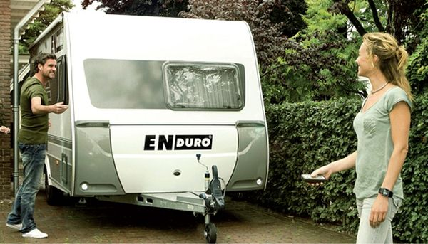 Anh./ Wohnanhänger-Einachs-Rangierhilfe- Enduro EM405SMART, incl. AGM AKKU light u. Ladegerät, PREMIUMPAKET 2000kg