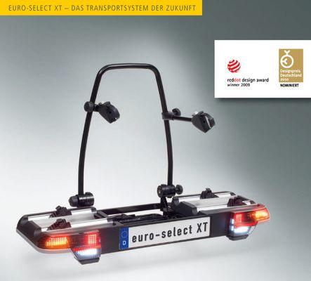 Fahrradträger MFT MULTI-CARGO euro - select XT, f. 3 F. für d. Anhängerkupplung AHK Fahrradträger für 3 Fahrräder
