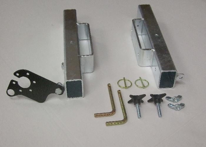 Aufnahmeelemente, Heckträgeraufnahme, Typ BO1 gerade, 35mm über