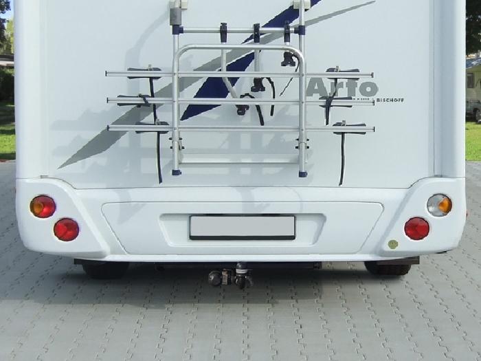 Anhängerkupplung Wohnmobil BOSStow VW Crafter 35, MAN TGE 35 Heckantrieb, Bj. 2018-, hor. abnehmbar Typ 05, Fzg mit vorh. tragf. Rahmenverlängerung, LB 145mm