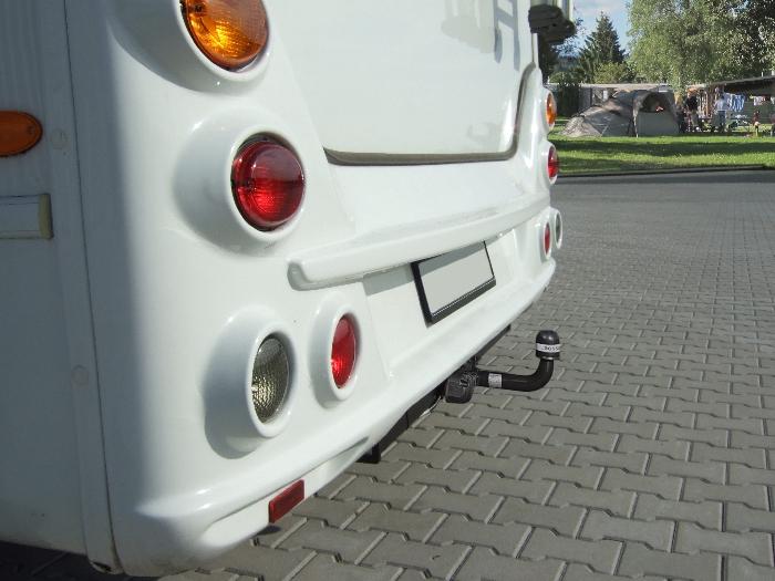 Anhängerkupplung Wohnmobil BOSStow Ford Transit FT120 u. FT150 (Radstand 2835mm)_ Bj.1986-2000, Typ 01 feststehend inklusiv Rahmenverlängerung 2000mm