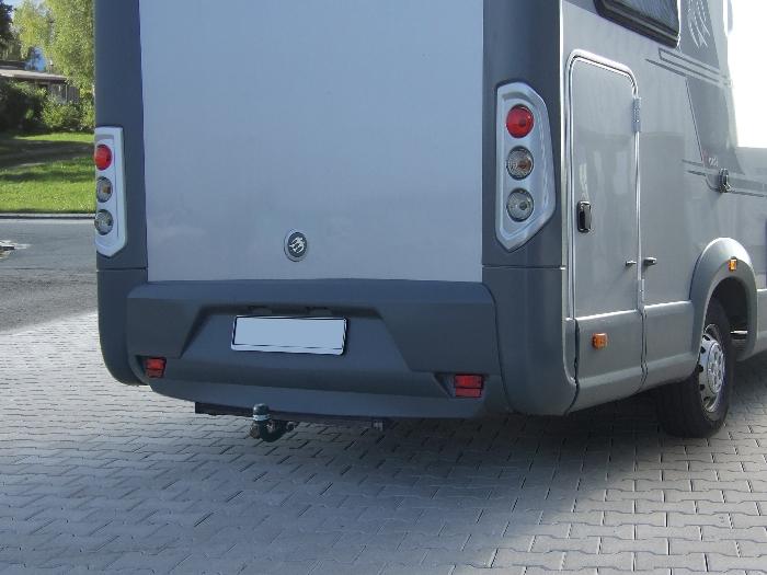 Anhängerkupplung Wohnmobil BOSStow Ford Transit FT150 (Radstand 3570mm)_ Bj.1986-2000, Typ 01 feststehend inklusiv Rahmenverlängerung 1500mm