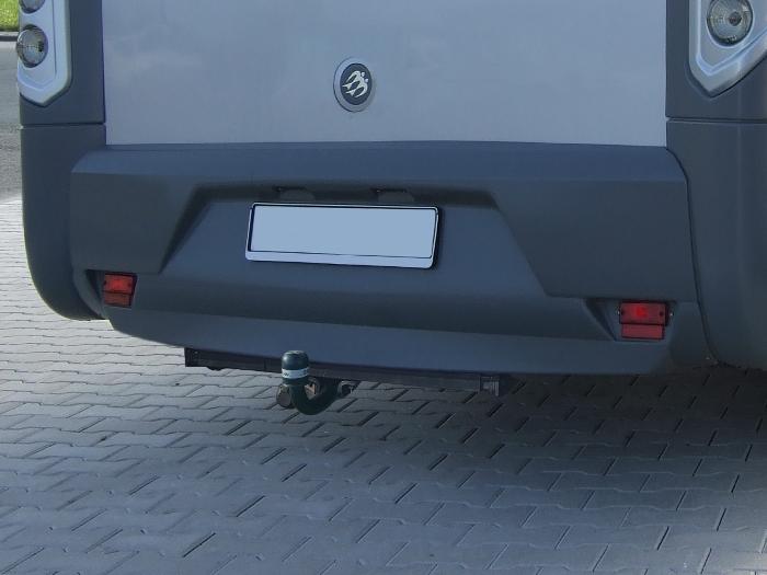 Anhängerkupplung Wohnmobil BOSStow Ford Transit Heckantrieb (FT350 Leiterrahmen)_ Bj.2006-2013, Typ 01 feststehend inklusiv Rahmenverlängerung 1500mm