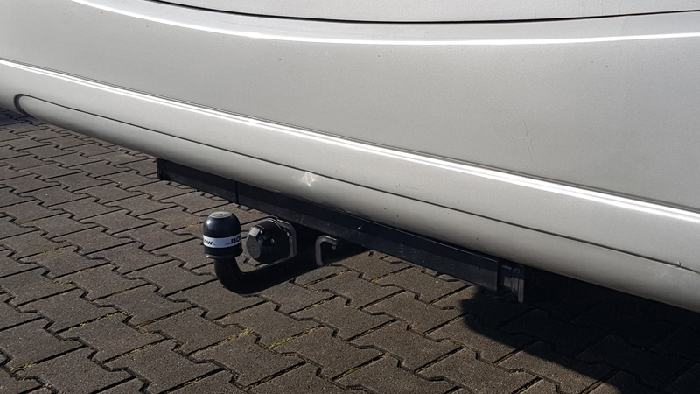 Anhängerkupplung Wohnmobil BOSStow Mercedes Sprinter 4er/ VW Crafter_ Bj. 2006-2018, feststehend Typ 05, Fzg mit vorh. tragf. Rahmenverlängerung, LB 145mm