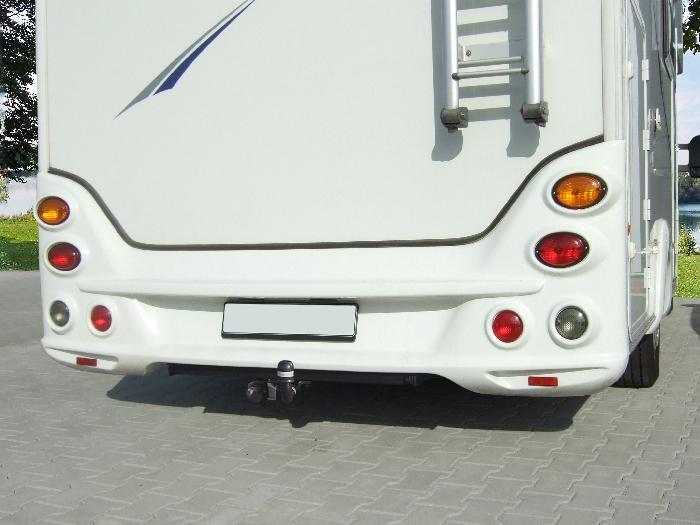 Anhängerkupplung Wohnmobil BOSStow Renault Master X62 Flachboden_ Bj. 2010-, Typ 01 feststehend inklusiv Rahmenverlängerung 1500mm