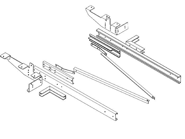 Rahmenverlängerung 1500 Basis BOSStow Typ 01 Renault Master X62 Flachboden_ Bj. 2010-