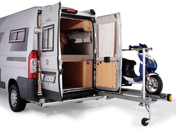 sawiko agito 120 f 1 motorrad roller f r kastenwagen. Black Bedroom Furniture Sets. Home Design Ideas