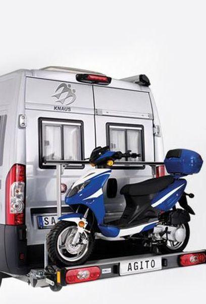 SAWIKO Agito 150, f. 1 Roller/ Motorradträger spez. für Citroen Jumper X250/X290 Bj. 2011-, mit AHK