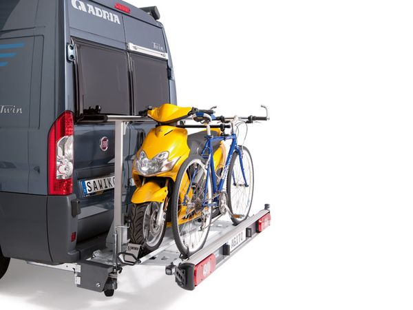 SAWIKO Agito 150, f. 1 Roller/ Motorradträger + 1 Fahrrad spez. für Fiat Ducato X250/X290 Bj. 2011-, ohne AHK