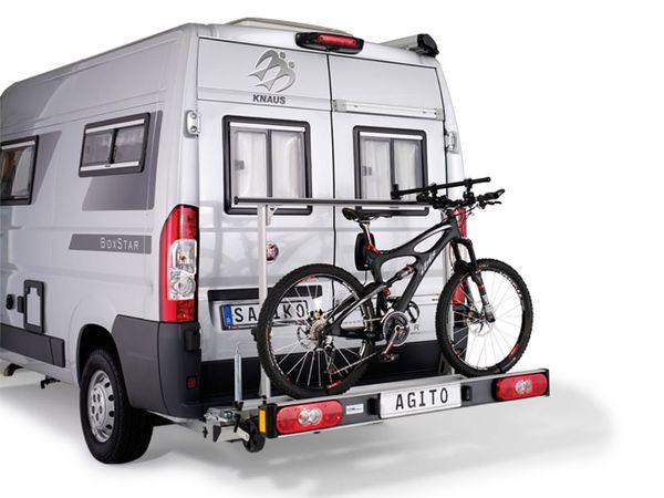 SAWIKO Agito Top für 2 Fahrräder o. E-Bike klappbar ++ AKTION ++ spez. für Peugeot Boxer X250/X290 Bj. 2011-, mit AHK