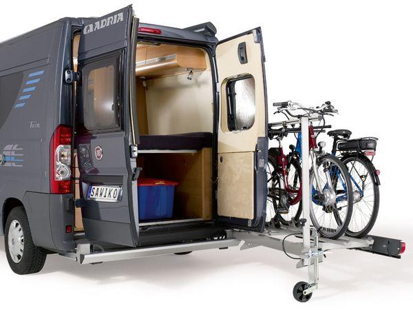 SAWIKO Agito Top für 3 Fahrräder klappbar spez. für Citroen Jumper X250/X290 Bj. 2011-, ohne AHK
