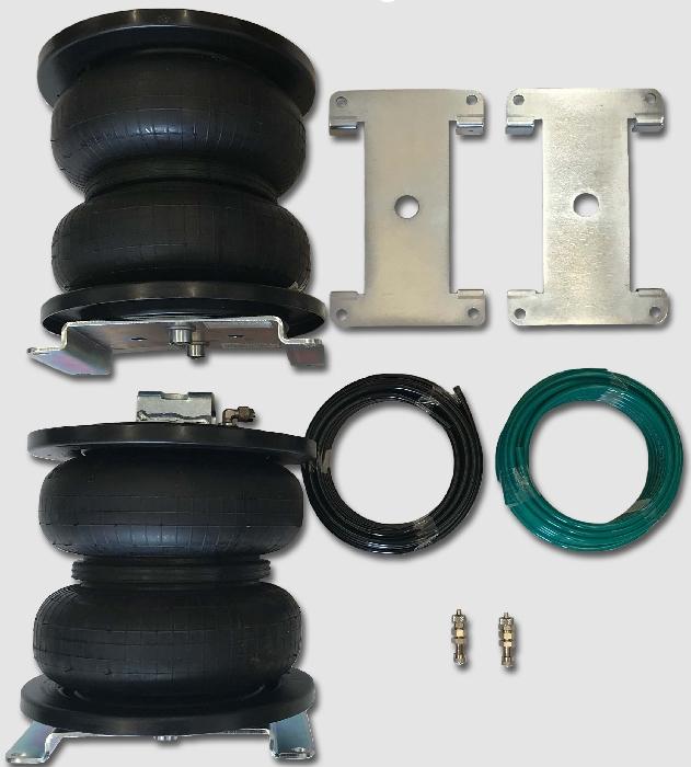 Fiat Ducato Eurochassis X250, intern X290 (2014-), Zusatz-Luftfederung 8 Zoll Zweikreis Doppelfaltenbalg- Anlage, Semi Air Komfortset, syst. LF1