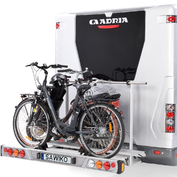 Sawiko Vario 1 Roller/ Motorradträger- plus 2 Fahrr /E-Bike
