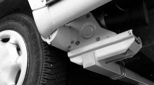 Zubehör Rangierhilfe- ALUTRANS smart drive Distanzplatten- Satz