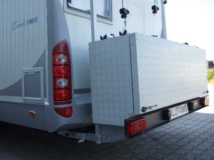 ALUTRANS- Wohnmobil ALUBOX XL inkl. Kit Bike