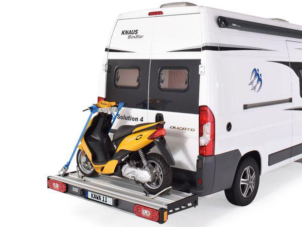 SAWIKO Kawa II 200 kg, f. 1 Roller/ Motorradträger spez. für Fiat Ducato X250/X290 Bj. 2011-, ohne AHK