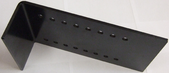 Zubehör Stützenhalter: Adapterplatte 300mm, abgewinkelt (2 Stk.) für AMPLO Hubstützen