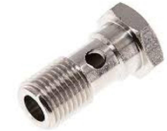 Zubehör Hydraulik: Hohlschraube G1/4 x30mm für Schlauchfitting Serie 30 u 3000