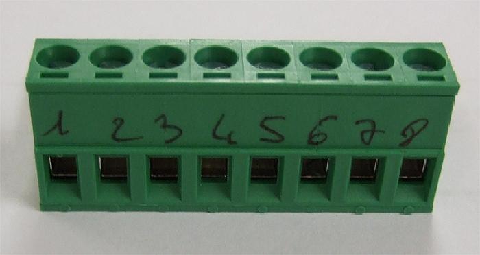 Zubehör Bedienteil: PIN-Steckerleiste (8 PIN) für Innenpanel (Steckplatz J1) für AMPLO System