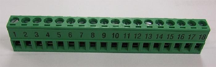 Zubehör Bedienteil: PIN-Steckerleiste (18 PIN) für Innenpanel (Steckplatz J2) für AMPLO System