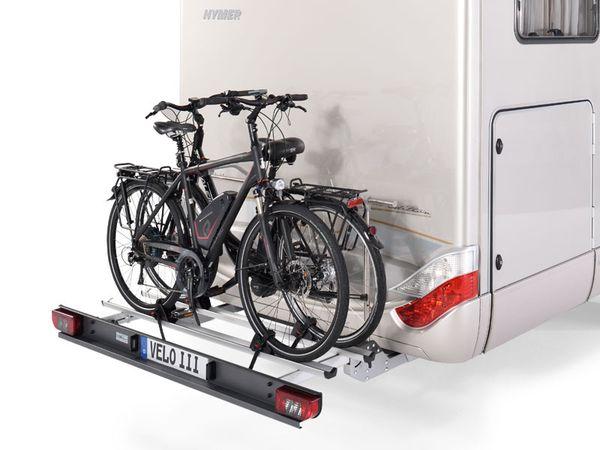 Sawiko Velo III - hochklappbar -für 3 Fahrräder, f. tragfähigen Heckrahmen