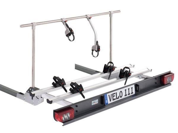 Sawiko Velo III - hochklappbar -für 3 Fahrräder, f. nicht tragfähigen Heckrahmen