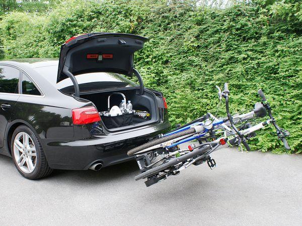 ALUTRANS IMPULS PRO II faltbar f. 2 Fahrräder/ E- Bike
