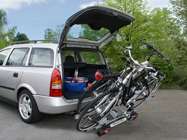 ALUTRANS IMPULS PRO faltbar f. 2 Fahrräder/ E- Bike