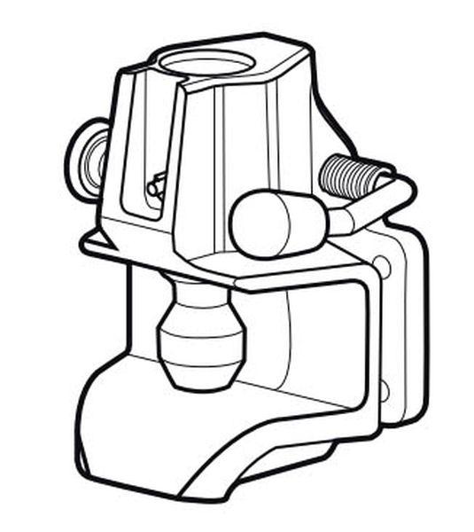 Maulkupplung Rockinger 140x 80mm, 78,2kN