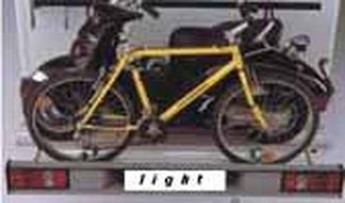 SMF- light, Wohnmobil Fahrradträger für 2 Fahrräder o. E-Bike