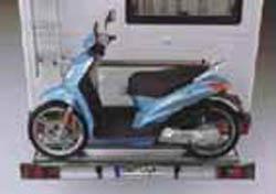 SMV SMF- light 120 kg, f. 1 Roller/ Motorradträger spez. für Citroen Jumper X250/X290 Bj. 2011-, mit AHK