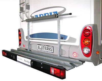 ALUTRANS prestige 1 Roller/ Motorradträger, 150kg spez. für VW T6 Bj. 2015-, o. AHK