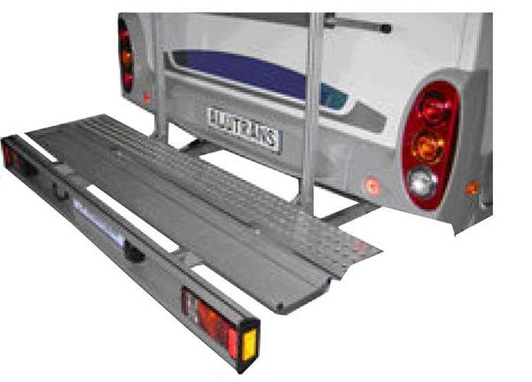 ALUTRANS Premium 1 Roller/ Motorradträger, 150kg spez. für Ford Transit FT 300-350 Bj. 2000-2014, m. AHK