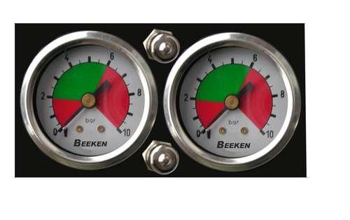 ( LF1) Pneumatisches doppel Fahrerhausbedienteil, 6,00 mm